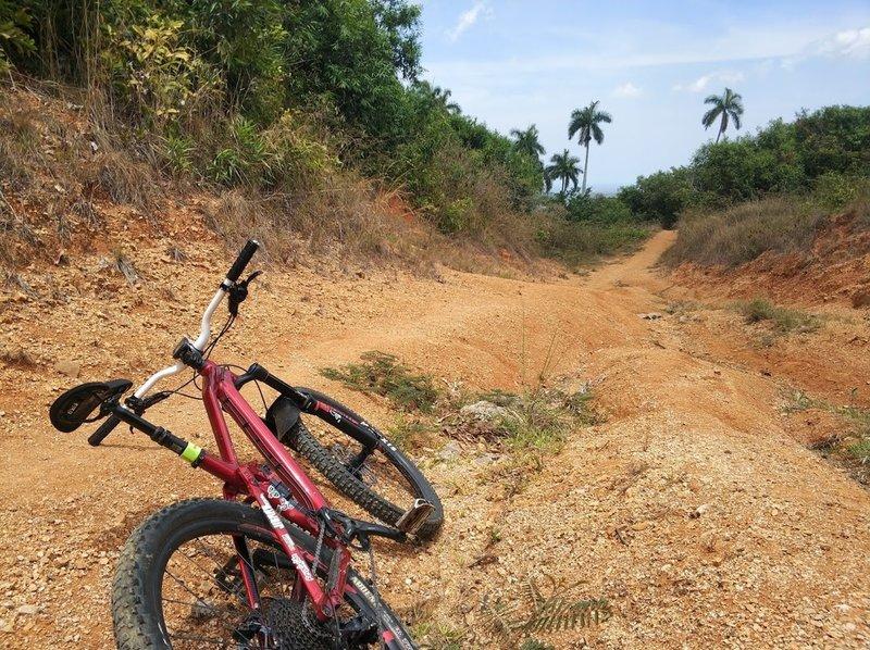 Sand trail close to the Minas de Buenavista