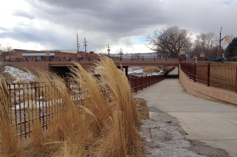 Underpass at Ralston Central Park.