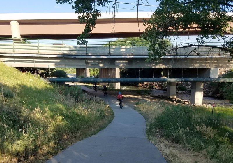 Clear Creek Trail underpass