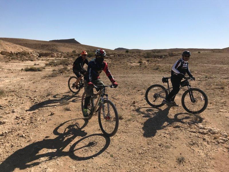 small wadi crossings