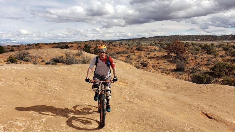 Riding Navajo