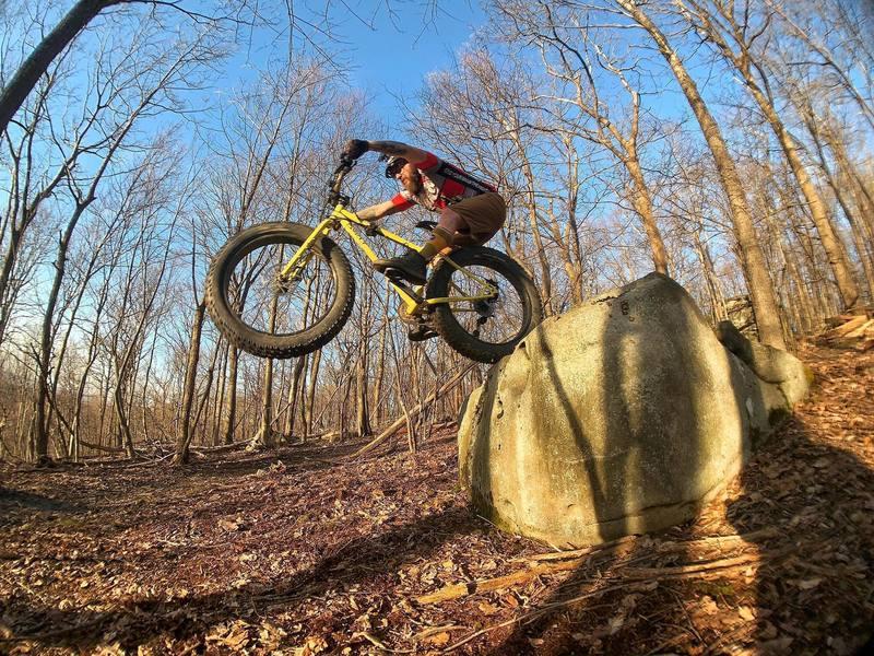Rock drop on McCune