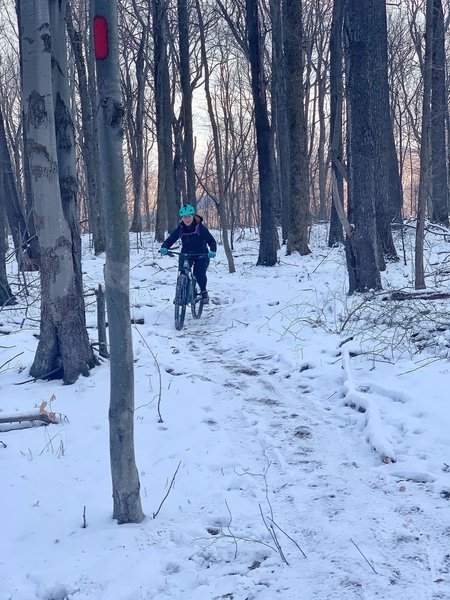 Snow riding at its best!
