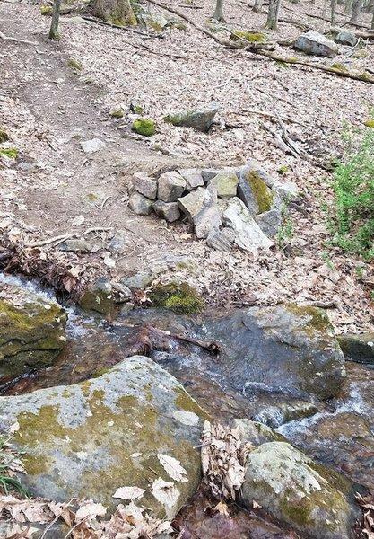 Rebuild of the creek gap lip