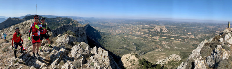 "Panoramic view from ""El Tossal d'Engrillo"""