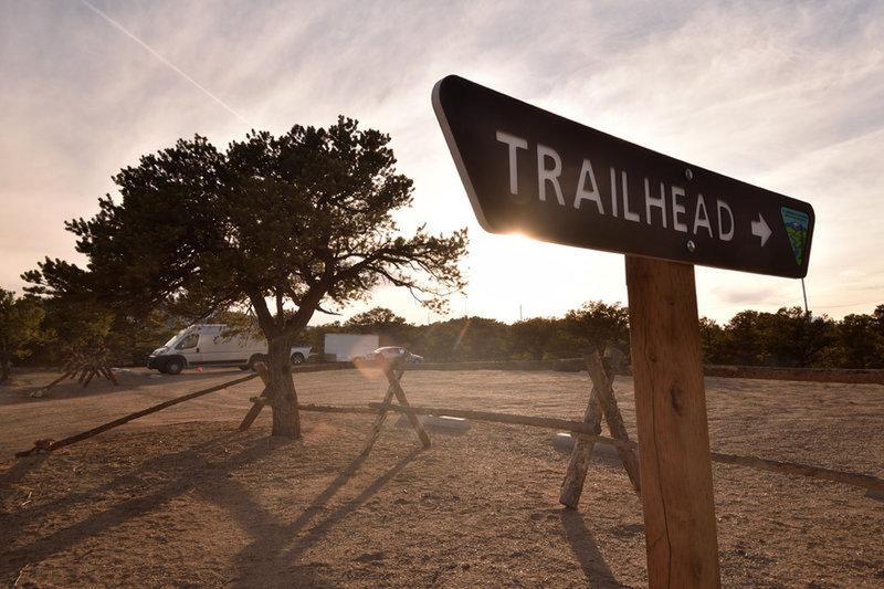 Spartan trailhead parking.