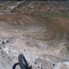 """The view off the edge of one of the """"lines"""" in the first part of the clockwise loop."""