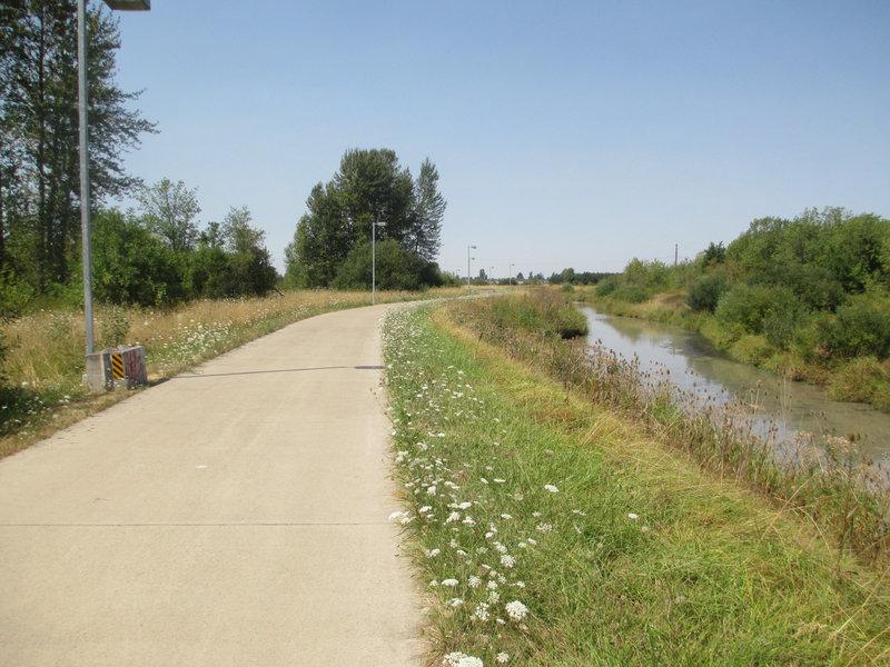 Also known as the Fern Ridge Trail/Path.