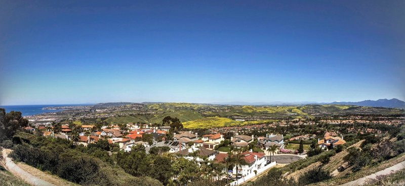 San Clemente Ridgeline Trail panoramic view