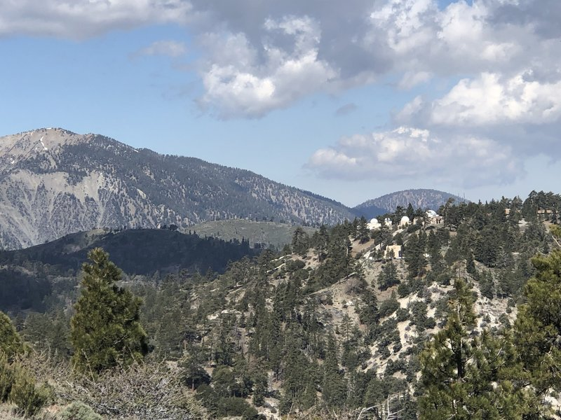 Another view of the JPL lab from the top of the trail.