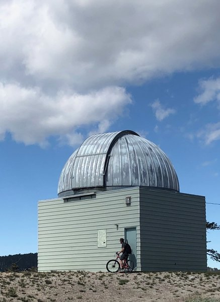 Smaller observatory near top of the trail.