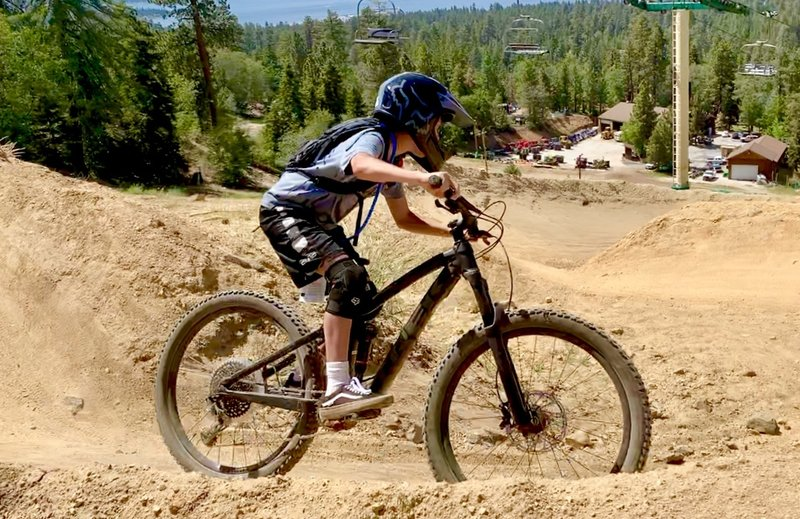 Bear Mountain Bike Park, Turtle Trail.