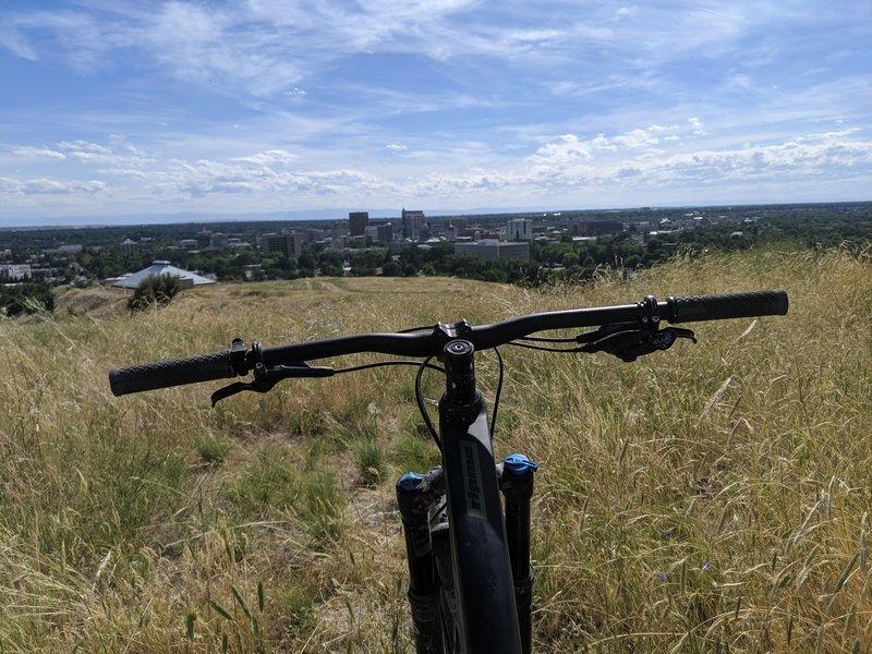 Elephant Rock Loop looking over Boise.