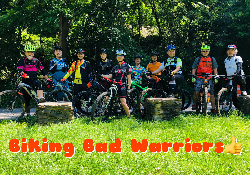 Biking Bad Warriors!