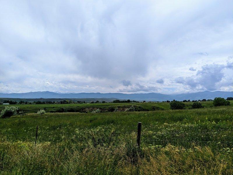 Beautiful vistas of the Big Horns.