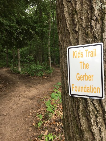Mosquito Creek's Gerber Foundation Kids Trail
