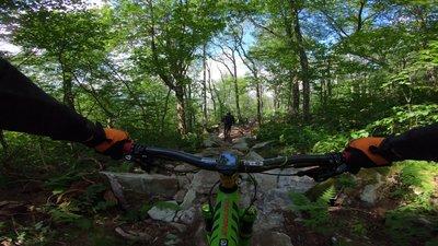 Carolina Cruiser Mountain Bike Trail Banner Elk North Carolina