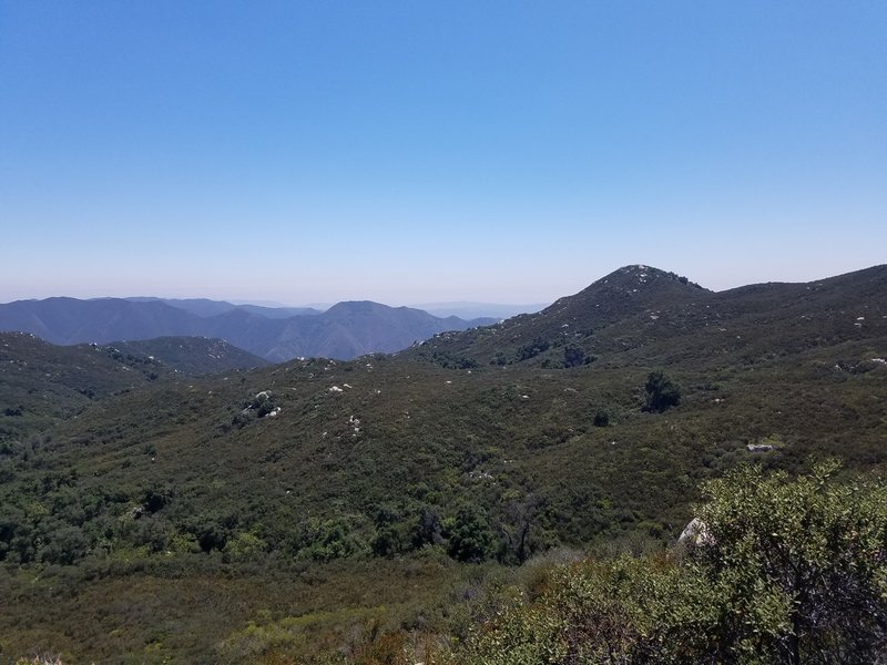 A view from the San Juan Trail
