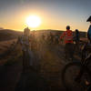 Regrouping on Ridgetop Twilight Ride 7/13/19