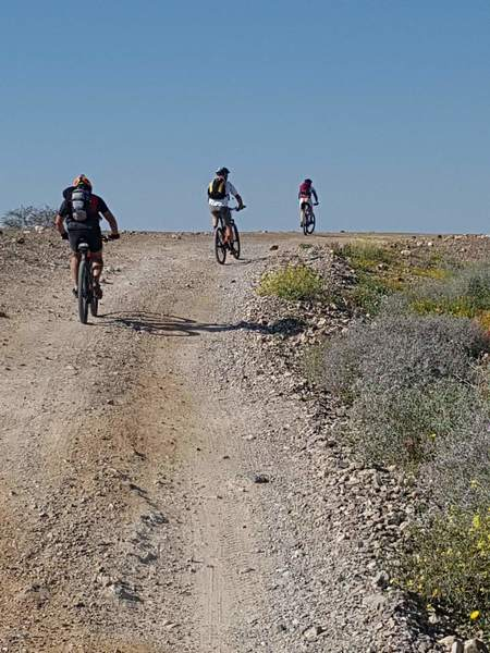 Israel Bike Trail: Moa - Yahel.