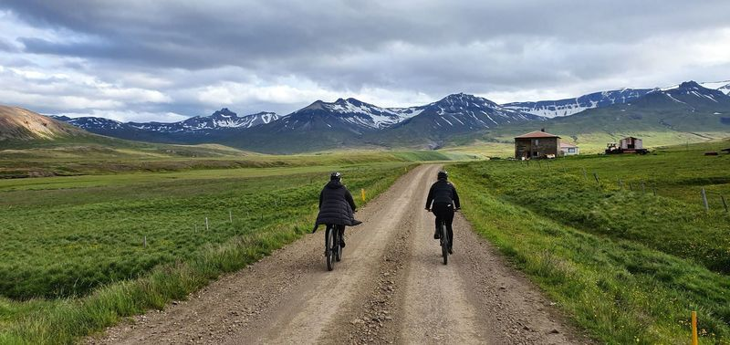 Riding into the Borgarfjörður valley