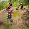 Get stoked on some big berms along the Chickalah Loop Trail.