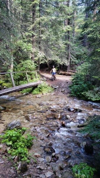 Creek Crossing on Coyote Coulee.