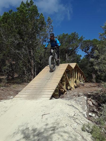 Tarantula Mountain Bike Trail, Burnet, Texas
