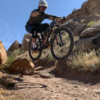 Lunch loop trails keep you on your feet with plenty of awesome drops!