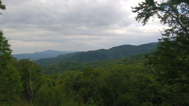 Viewpoint on Horsepasture Road.