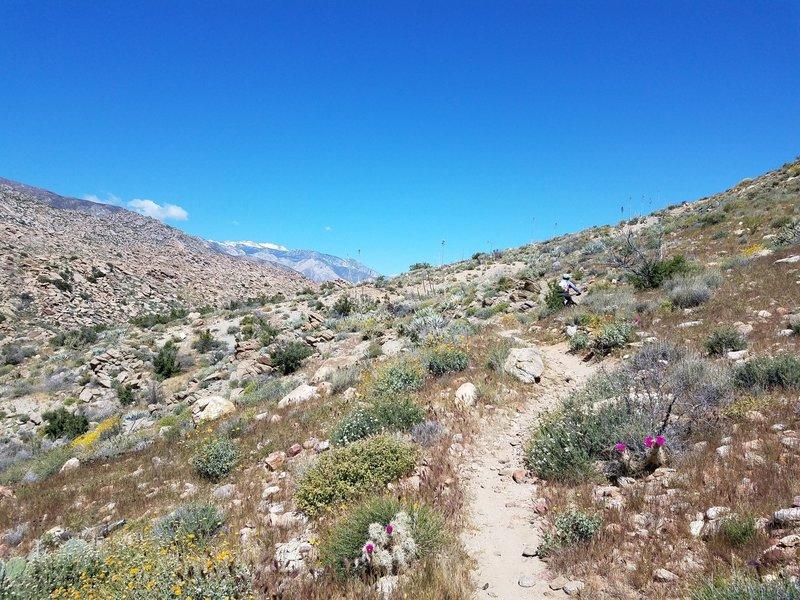 Near the trailhead--prepare for a bit of exposure!