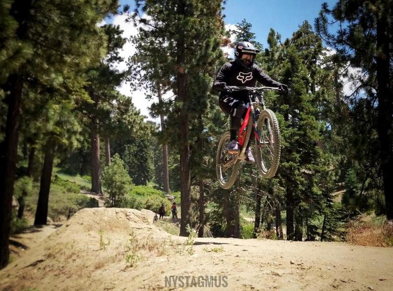 Jump session at west ridge.