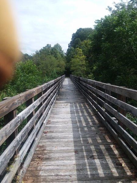 Bridge past the detour...