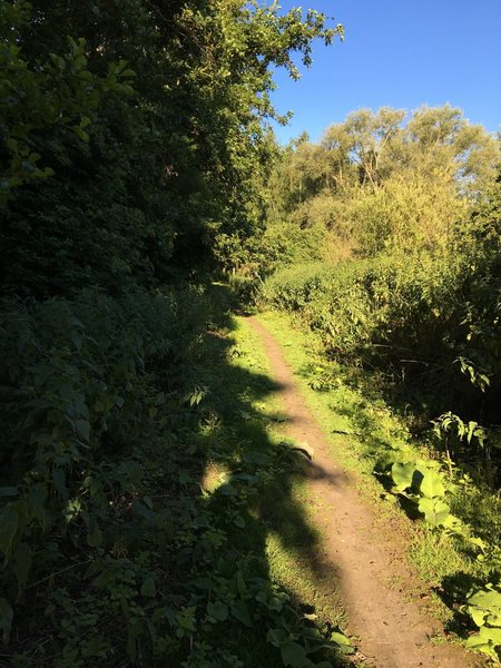 End lake trail