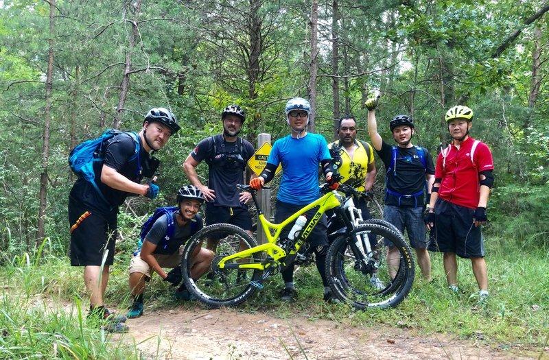Shredding the BROT trails