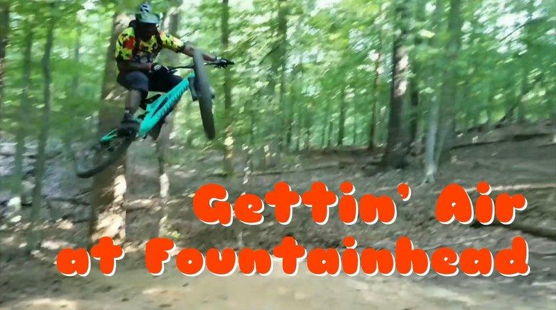 Elliott Gettin' Air at FH