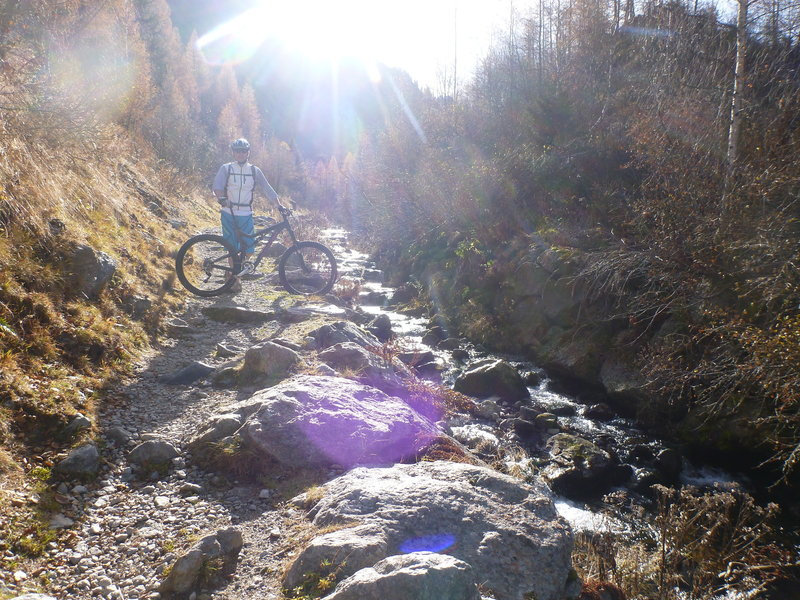 Buet to the Col des Montets along the river