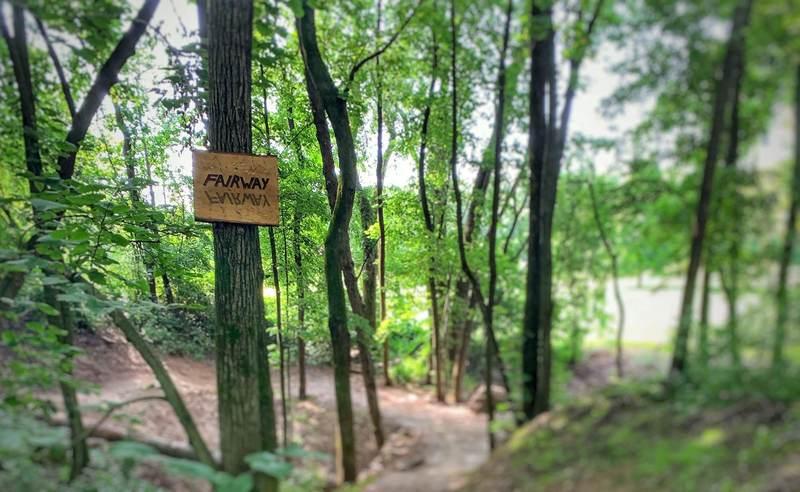Custom trail signage / wayfinding.