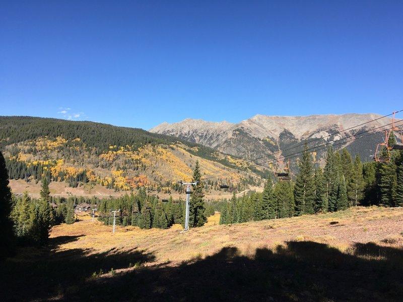 Lumberjack Lift and Ten Mile Peak