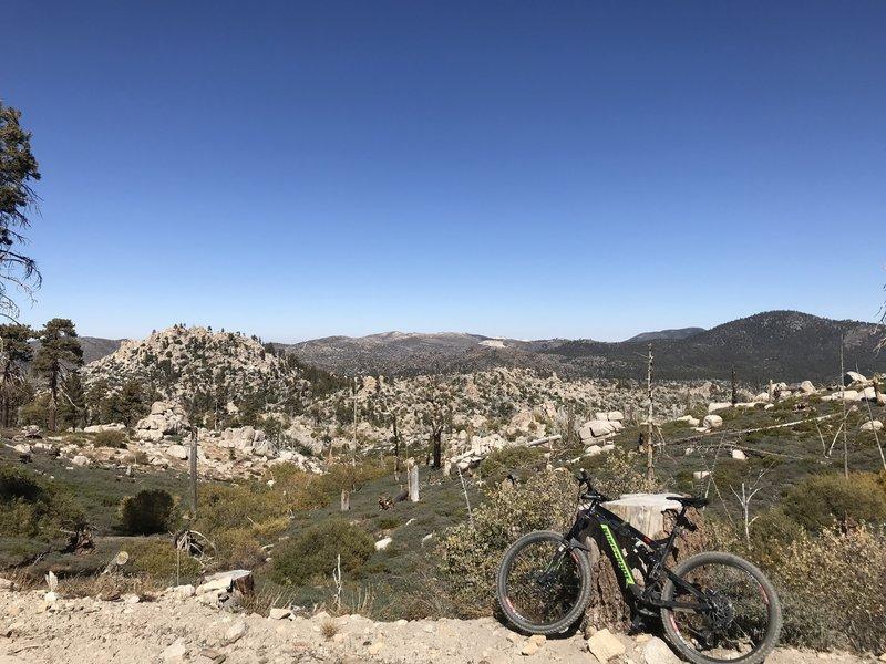 The rough country around Butler Peak.