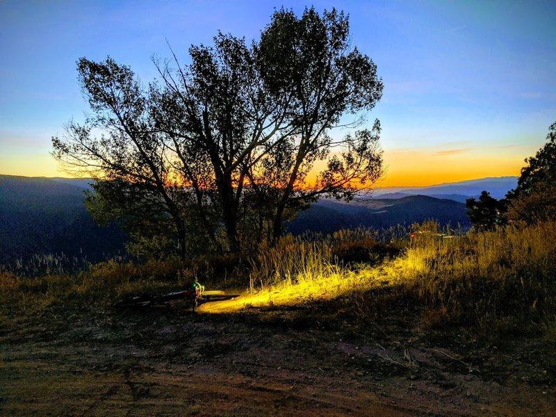 Sunrise on Grandstaff