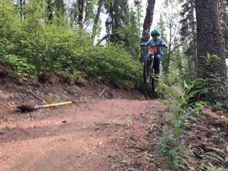 Fun for the whole fam on the new Slikok Trails.