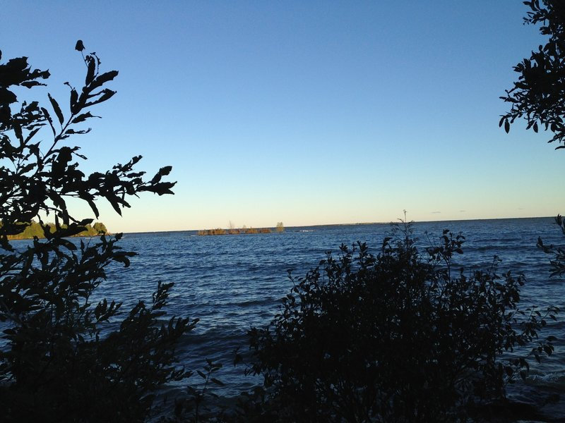 Camping on Lake Michigan