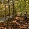 Path follows the Buffalo Creek