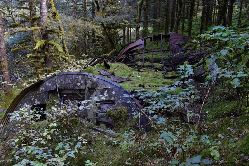 quonset hut ruins
