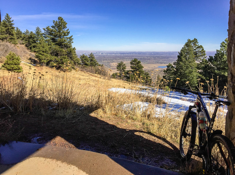 Nice view of Denver skyline