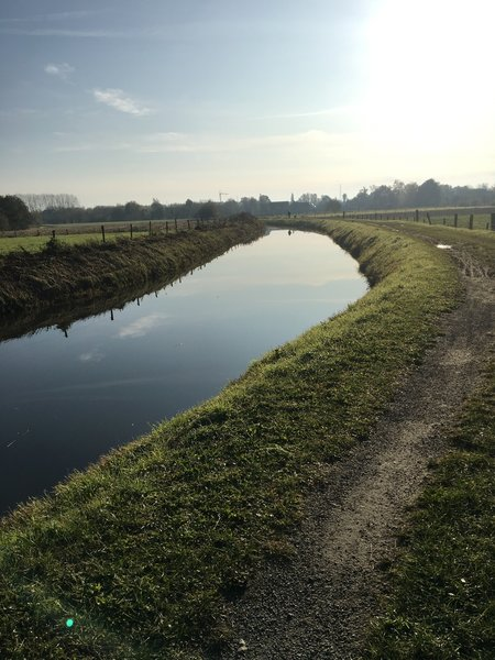 Singletrack along Leebrug