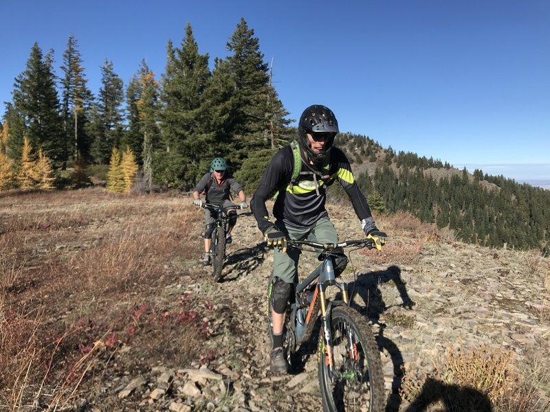 Ridgline Trail 320/Upper Doing Tme Trail 720--Shale Rock Crossing/Grande Overlook