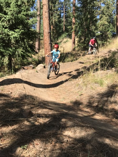 Geez Dad, we may need to get you an ebike so you can keep up!