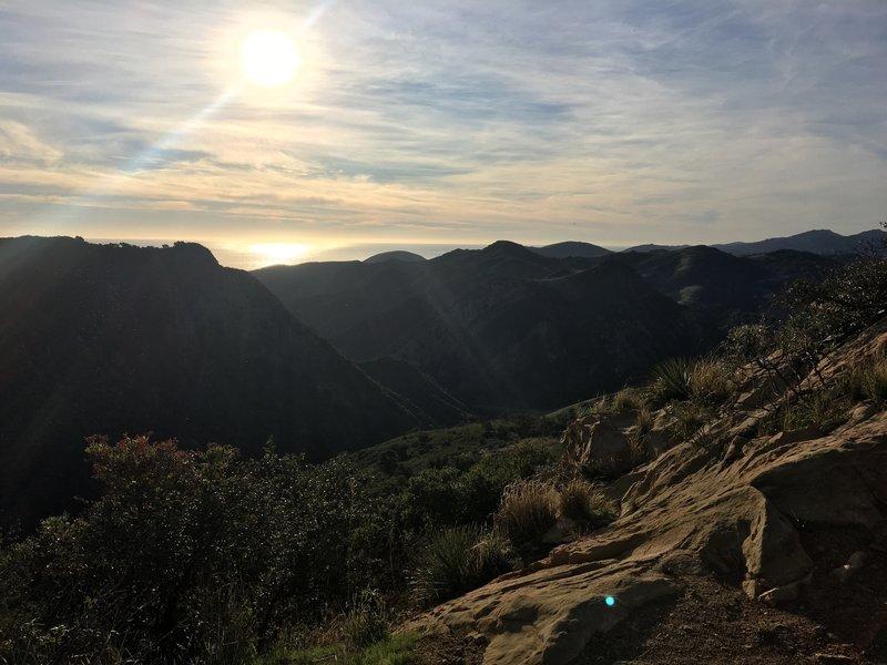 Beautiful views at the peak!